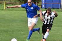 Dražejov podlehl doma Lomu u Tábora 1:2 gólem z 90. minuty.