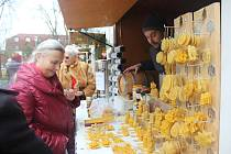 Adventní trhy ve Vodňanech.