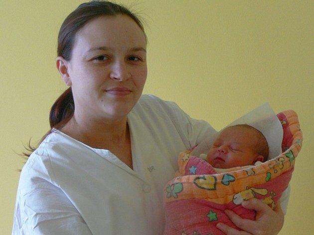 Linda Galová, Svéradice, 18.1. 2013 v 16.07 hodin, 2820 g. Malá Linda je prvorozená.