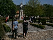 Volyně - Pietního aktu k uctění památky padlých v 1. a 2. světové válce se zúčastnili obyvatelé a zástupci města Volyně.