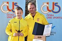Fotbalisté Junioru U13 Strakonice se stali Sportovním kolektivem Strakonicka za rok 2020 v kategorii mládeže.