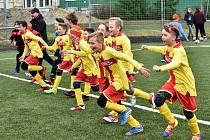 Mladší žáci Junioru porazili Vimperk 4:0.