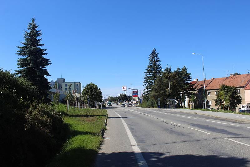 Odstranění lávky pro pěší v ulici Katovická.