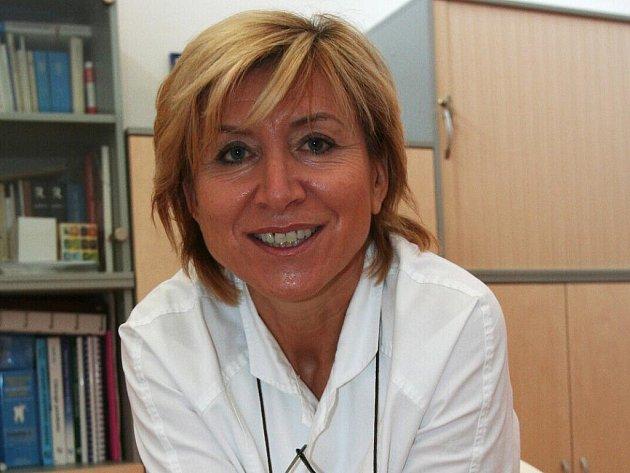 Zubařka Regina Pelíšková.