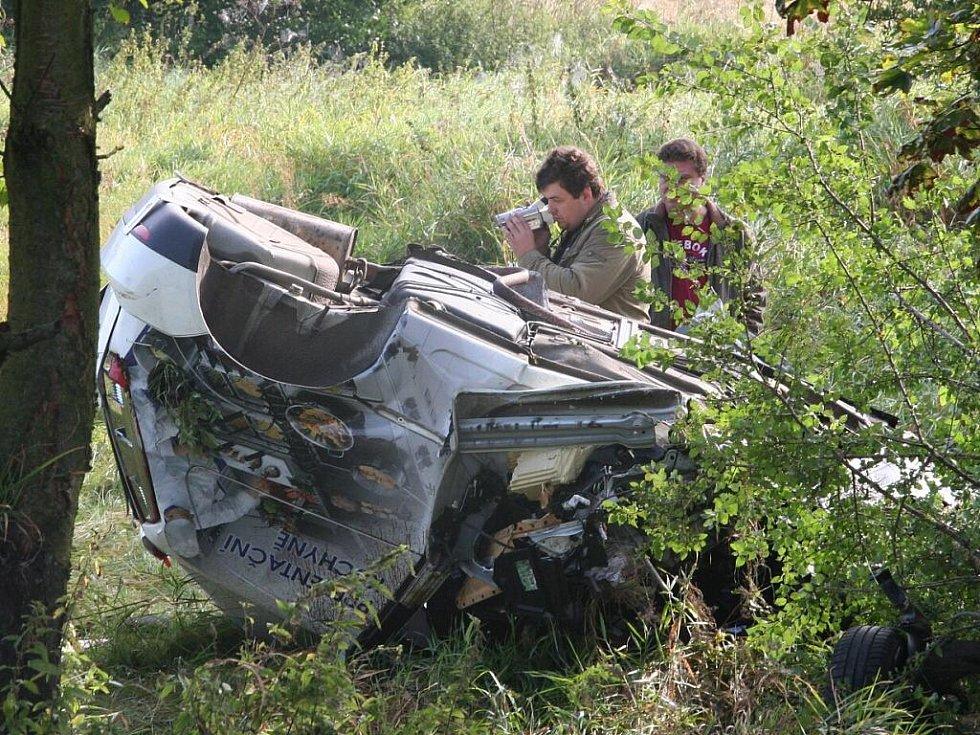 Tragická nehoda u Vodňan.