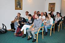 V úterý 27. listopadu přivítal starosta Břetislav Hrdlička v obřadní síni městského úřadu ve Strakonicích nové občánky města.