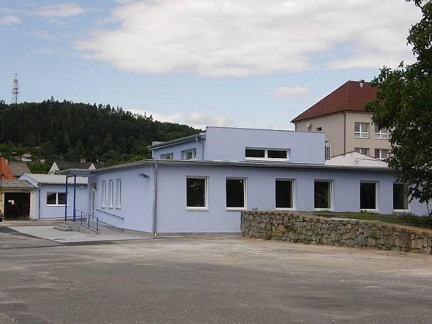 Nová budova odboru dopravy.