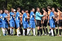 Nově vzniklé béčko Junioru Strakonice ve své premiéře ve III. třídě porazilo v derby Balvany 2:1.