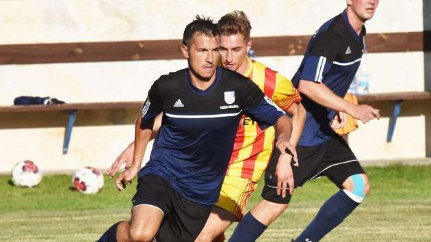 Fotbalový KP: Junior Strakonice - Dražice 1:2.