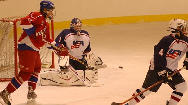 Křemelka zažívá hokejový svátek.
