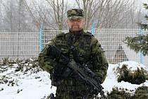 Pavel Dobišar je příslušníkem jednotky Aktivní zálohy, která působí u vojenského útvaru ve Strakonicích.