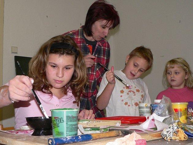 Od poloviny září se ve Volyni opět rozjely kroužky domu dětí a mládeže.