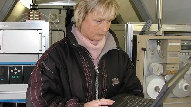 Ivana Hrubcová  ze zdravotního ústavu.