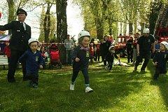 Strakonická Křemelka patřila v sobotu 6. května malým hasičům.