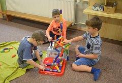 OBRAZEM: V mateřské školce ve Vodňanech nakoupili dětem stavebnice za 85 tisíc korun.