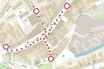 Velké náměstí bude na dvě hodiny uzavřeno.