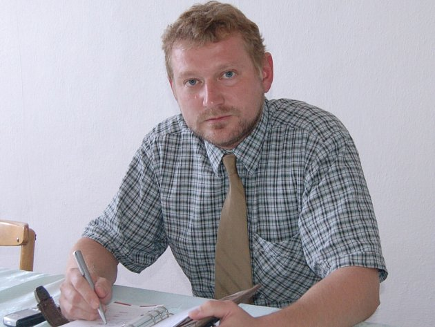 Prezident BK Strakonice Miloš Balák.