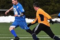 Fotbalová příprava: Junior Strakonice - Šumavan Vimperk 2:4.