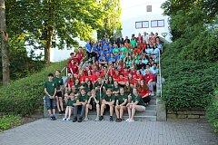 Pobyt studentů na mezinárodním workcampu v Bad Salzungen, partnerském městě Strakonic.