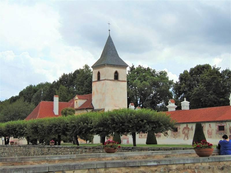 Zámek Kratochvíle nedaleko Netolic.