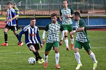 Fotbalový KP: Blatná - Český Krumlov 0:7 (0:4).