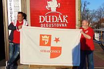 Slávisté na exkurzi v Dudáku.
