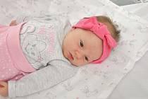 Estel Kalynych ze Strakonic. Estel se narodila 22. září 2019 v 6 hodin a 15 minut a její porodní váha byla 2 830 gramů. Holčička je prvorozená.