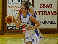 V PRVNÍCH dvou zápasech byla Eliška Petrušková tahounem U19 Chance.