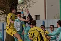 Katovičtí podlehli v Protivíně 0:2.