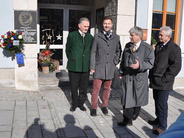 Návštěva rodiště Karla Klostermanna v Haag am Hausruck 11.2.2018.