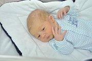 Daniel Vácha, Strakonice, 28.2.2018 ve 13.08 hodin, 3550g. Malý Daniel prvorozený.