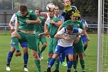 Fotbalová I.A třída: Vodňany - Prachatice 3:3. Foto: Jan Škrle