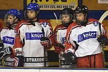 Strakoničtí hokejoví dorostenci. Ilustrační foto