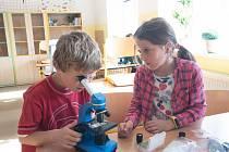 Mladí badatelé v akci.