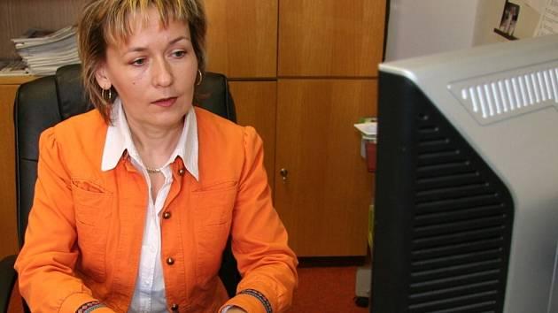 Předsedkyně Okresního soudu ve Strakonicích Martina Flanderová
