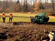 U Čejetic se střetl vlak s osobním autem