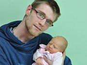 Nikola Šípová, Strakonice, 4.4. 2017 ve 12.30 hodin, 3380 g. Malá Nikola je prvorozená.