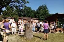 Bábinky z Radomyšle vyrazily první prázdninovou středu na výlet společně s vnoučaty.