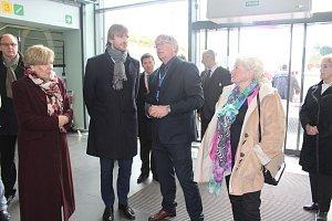 Ministr zdravotnictví Adam Vojtěch navštívil strakonickou nemocnici