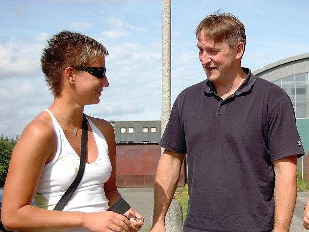 Eduard Gaisler s Darinou Johnovou.