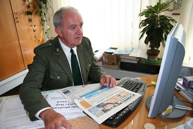 Ředitel SRŠ Vodňany Miroslav Merten.