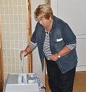 Volby v Mačkově.