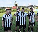 Fotbalisté Dražejova oslavili výhru v sezoně 2017/18 v OP P Strakonicka.