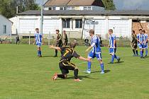 Fotbalová I.A třída: Sousedovice - Vodňany 4:0.