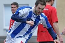 Aleš Červenka byl nejlepším střelcem týmu v podzimní i jarní části divize. Celkem dal 11 gólů, z toho šest na podzim.