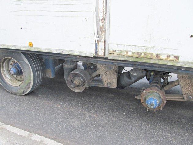 Nebezpečný kamion.