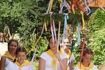 Veselý příběh o namlouvání starého mládence Pazderníka a sličné panny nevěsty Konopičky byl k vidění v Řepici tuto sobotu 21. července.
