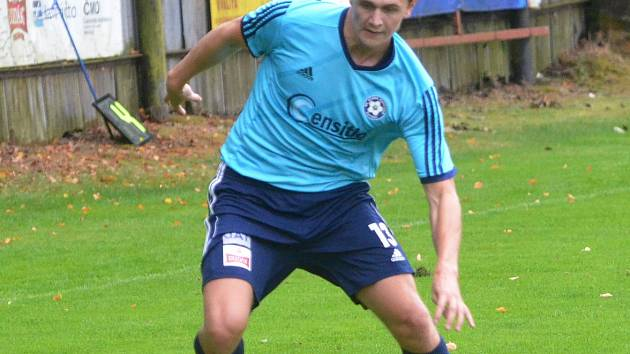 Jakub Miklas (13), Michalů Repa , trenér Roman Malý.