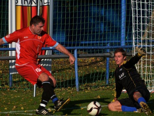 Junior Strakonice rozstřílel Doubravici B 9:0.