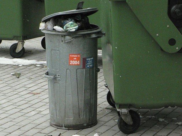 Strakonice dostanou sto kontejnerů na třídění odpadu